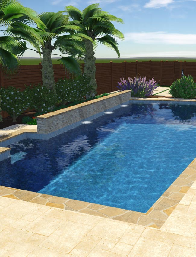 pool design 3D