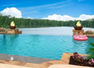 Infinity pool design