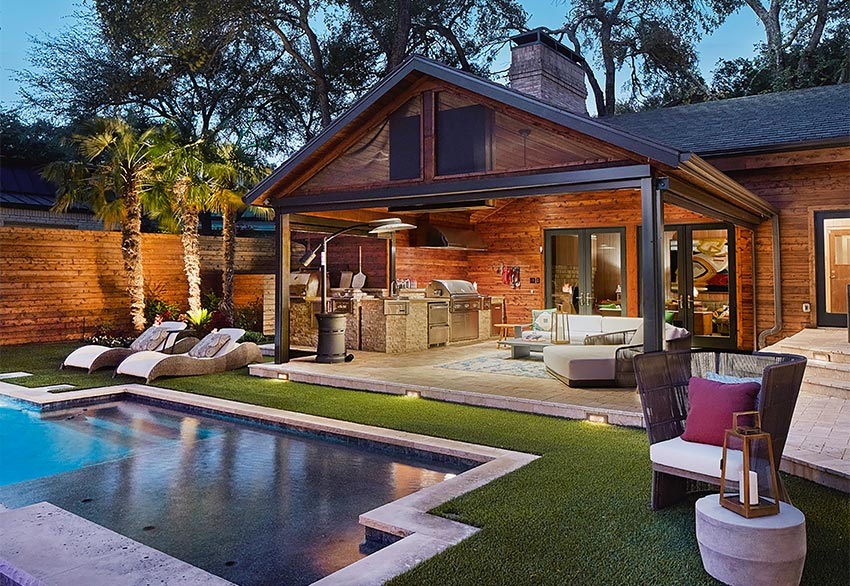 Weisz outdoor living backyard transformation