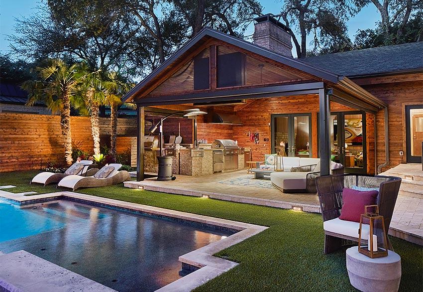 Weisz outdoor living backyard transformation